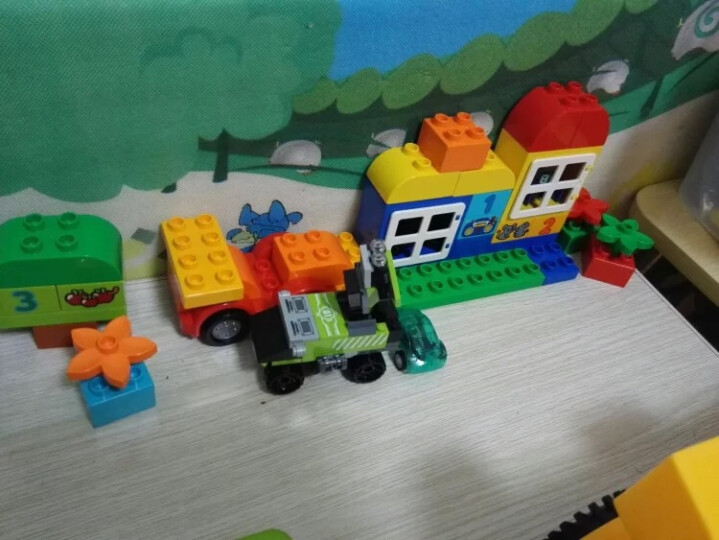 LEGO乐高 Duplo得宝系列 益智儿童大 颗粒积木玩具 创意拼插 2018 1月新款我的小马房 10868 晒单图