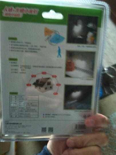 公创 LED夜灯圆锥灯扇形灯智能光感人体感应节能衣柜壁橱衣橱灯床头灯 扇形灯(暖光) 晒单图
