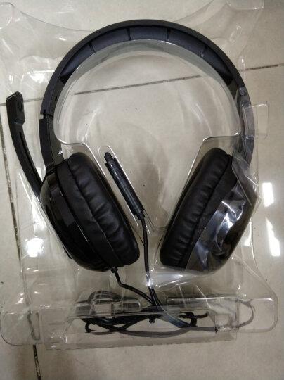 漫步者(EDIFIER)K815P 多媒体全功能耳机 游戏耳机 电视耳机 电脑耳麦 黑色 晒单图