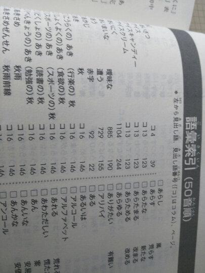 新东方:新日本语能力测试(N2词汇 附光盘) 晒单图