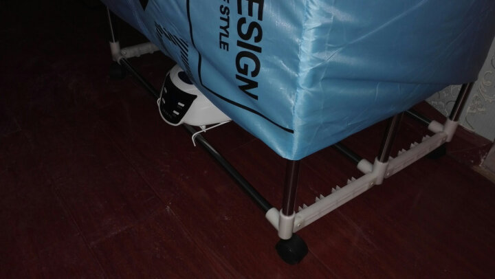 清货可折叠方形双层烘衣机干衣机家用静音省电衣服烘干机速干衣静音省电暖风机烘被机烘衣机可折叠 晒单图