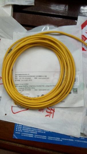 绿联(UGREEN)超五类网线 百兆网络连接线 Cat5e超5类成品跳线 家用装修电脑宽带非屏蔽八芯双绞线8米 30641 晒单图
