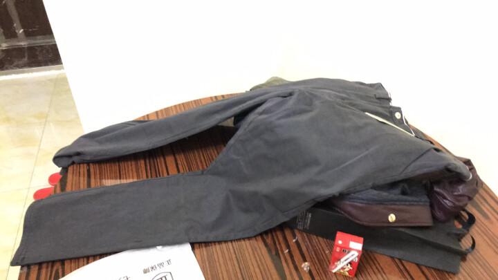 KC 休闲裤男春季商务修身直筒韩版纯棉宽松弹力冬款长裤子男士 米白色普通款 32(2尺5) 晒单图