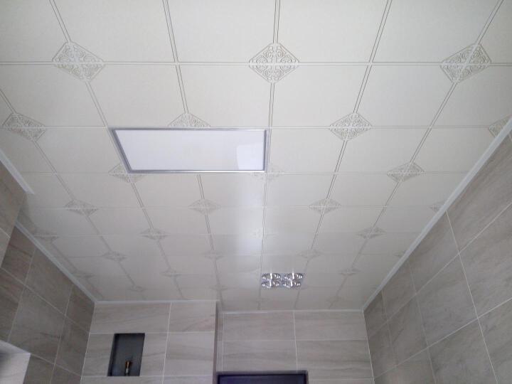 雅巢 天花板材料欧式简约风装修厨房卫生间集成吊顶铝扣板含全套龙骨配件 凡尔赛 300*300 晒单图