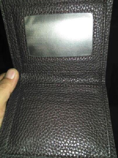 BROWNEFOX时尚钱包+自动扣皮带商务潮流休闲腰带套装组合 1014-66自动扣+竖款咖啡色钱包 晒单图