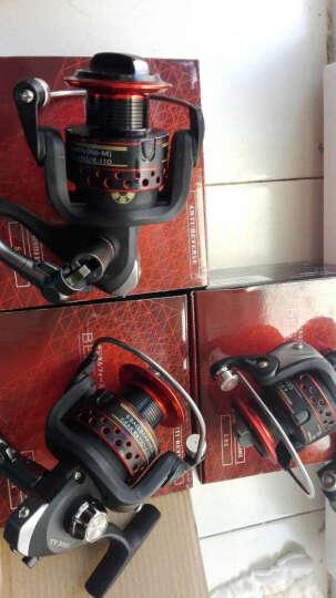 泰戈鱼轮 6轴渔轮 前卸力纺车轮金属头路亚轮 鱼线轮渔具 多种型号纺车轮 渔具 5000型号 晒单图