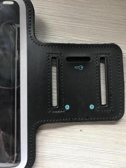 蒙奇奇跑步手机臂包运动防汗男女套包壳袋 iPhoneX/苹果8plus/7/华为/小米 经典黑色(4.7英寸以内) 晒单图