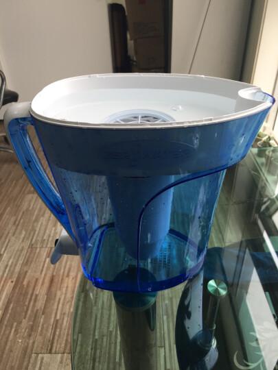 ZEROWATER 零水滤水净水壶净水器家用直饮厨房自来水过滤器十杯蓝色经典款ZP-010 八杯装净水壶+一盒净水壶滤芯(2只装) 晒单图