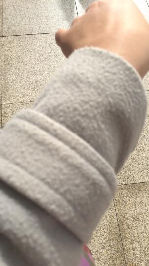 尧艾魅 毛呢大衣女2017秋冬新款女装韩版优雅气质修身毛呢外套中长款风衣外套女 860 绿色 M《100-120斤》 晒单图
