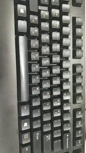 酷尚美 联想华硕戴尔三星笔记本电脑键盘贴纸韩文语日语台式一体机通用俄语按键保护贴膜 磨砂黑底白字 韩语 晒单图