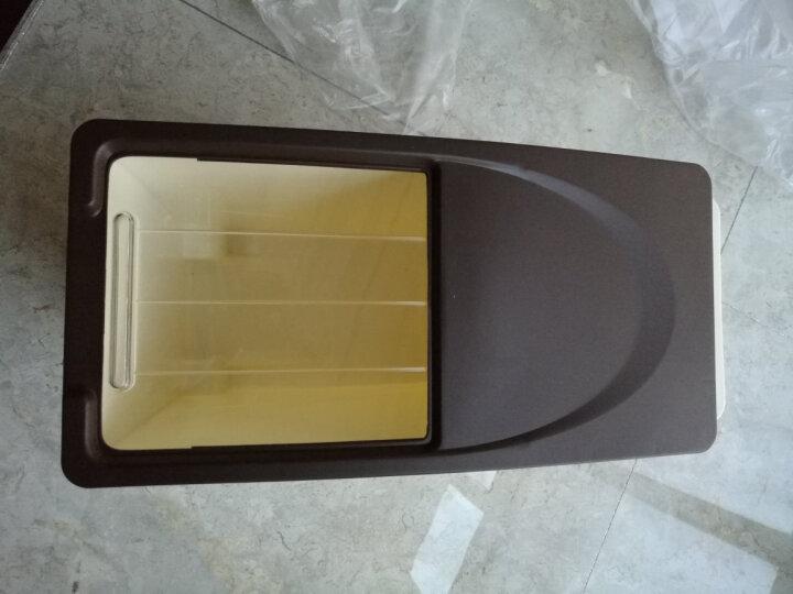 米桶塑料储米箱面粉米缸防虫防潮带盖10公斤15公斤厨房密封储物盒 果绿色单个装 10KG 晒单图