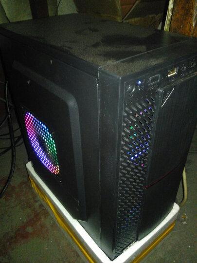 富善能 电脑机箱V3黑色机箱迷你机箱支持中小板(M-ATX主板/背线/有支持光驱位 V3加额定450W电源 晒单图