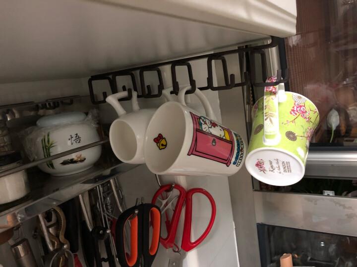 丹侬 英国DUNOON进口骨瓷马克杯 小陶瓷水杯茶杯 樱花咖啡杯210ml 礼品 绿色 晒单图