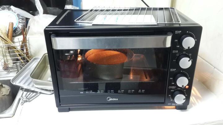 美的(Midea)T3-L323D 家用多功能电烤箱 32升 搪瓷易清洁内胆 旋转烧烤 上下管独立控温 晒单图