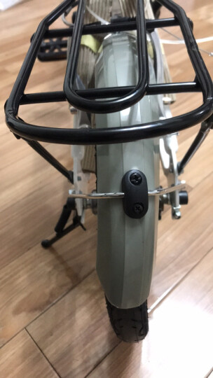 大行(DAHON) 折叠自行车车尾包山地车车尾包单车自行车装备骑行装备鞍座包 黑红 晒单图