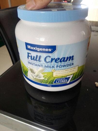 澳洲进口 美可卓(Maxigenes) 全脂高钙速溶成人奶粉 原装进口蓝胖子 1kg/罐 晒单图