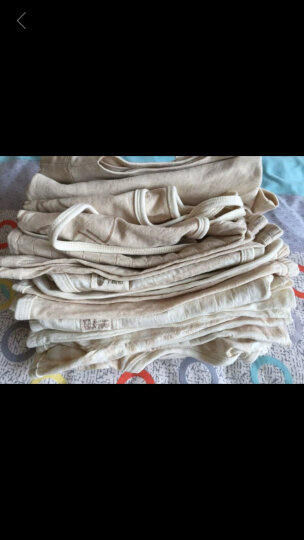 南极人(Nanjiren)【8款可选】新生儿短袖套装婴儿夏季衣服宝宝T恤背心短裤两件套 背心-小兔 73CM(建议6-12个月,16-20斤宝宝) 晒单图