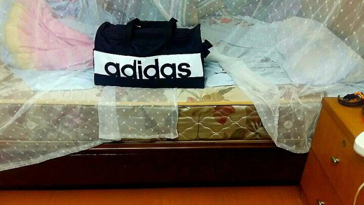 阿迪达斯 adidas 男女 训练队包  中性挎包运动包手提包 AJ9997 黑色 S 晒单图