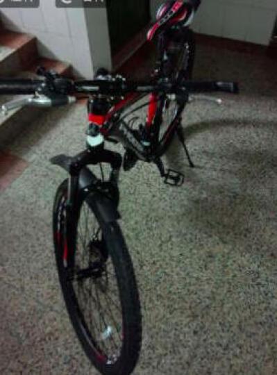凤凰(Phoenix) 变速山地自行车男女 成人户外越野赛车公路单车学生少年JC01 26寸21速 白蓝铝合金车架 舒适JC01 晒单图