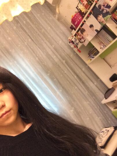 帝飞(DIFEI) 帝飞假发女长直发内扣隐形无痕流行空气刘海齐腰 自然黑色 晒单图