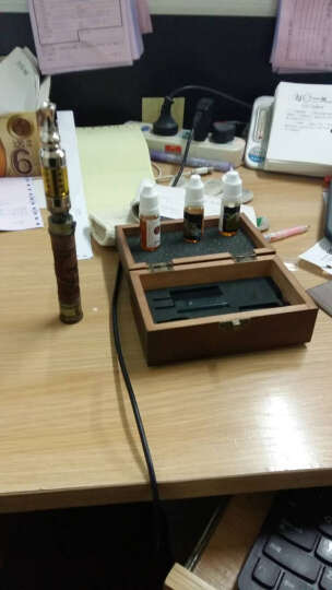 电子烟木质雕刻蒸汽大烟雾戒烟产品 生日礼物 商务礼品套装礼物结婚礼物 情人节礼物教师节 翼龙 晒单图