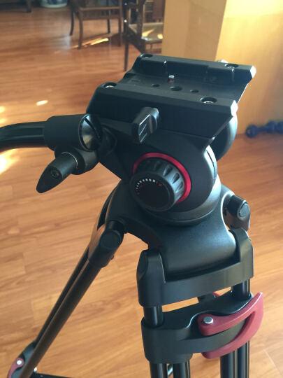 miliboo 米泊铁塔MTT603A摄像机三脚架广播广电级摄影单反角架带液压云台 晒单图