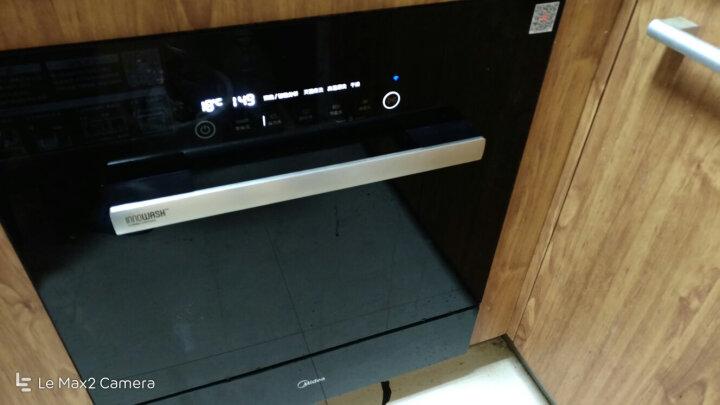 美的(Midea)洗碗机家用 8套 WiFi智能控制 除菌式 家用嵌入式洗碗机3908  晒单图