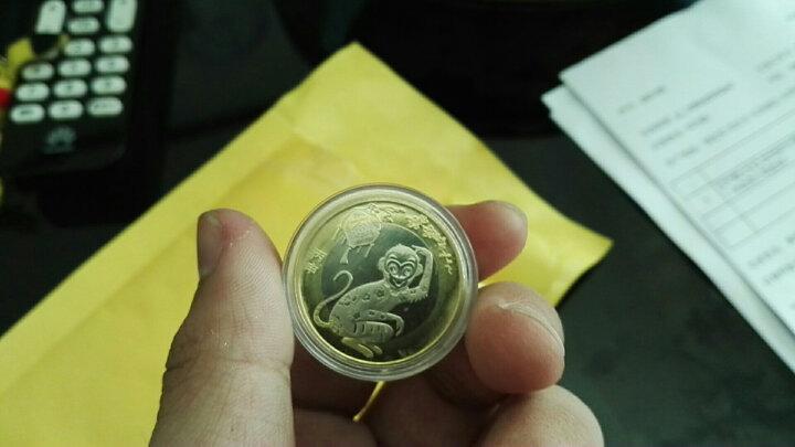 【甲源文化】2016年中国二轮猴纪念币 猴年10元生肖纪念币 全新品相 单枚鉴定盒装 晒单图