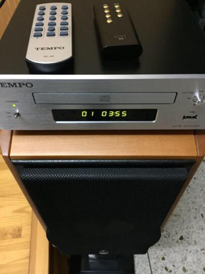 山灵EC1B发烧CD机迷你CD机HIFI音响桌面CD音响系统CD转盘 黑色 晒单图