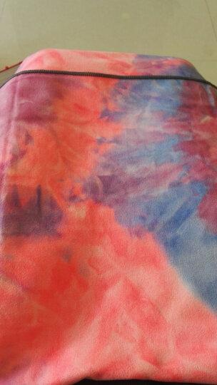 哈他专业加厚瑜伽铺巾 吸汗防滑瑜伽垫毯子 麂皮绒毛巾健身毯 山茶(送收纳包) 晒单图