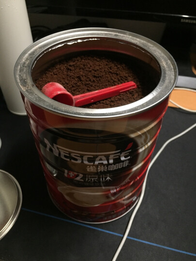 Nestle雀巢咖啡醇品黑咖啡袋装 500g 可冲277杯(新旧包装随机发货) 晒单图
