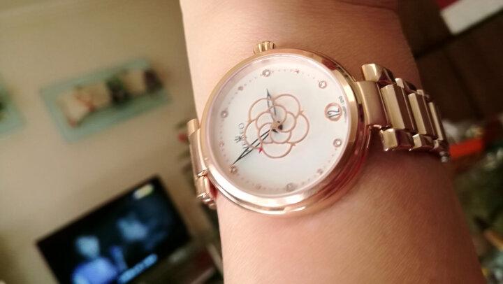 【好评过万】瑞士海士爵机械女表风之精灵系列时尚唯美女士手表 >创意花型秒针设计全自动情侣表 玫瑰金-新到货 晒单图