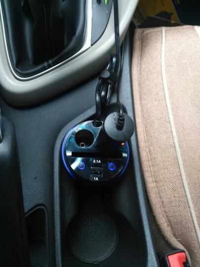 固特异 杯式车用车载充电器多功能手机双USB车充 一拖二点烟器插头 晒单图