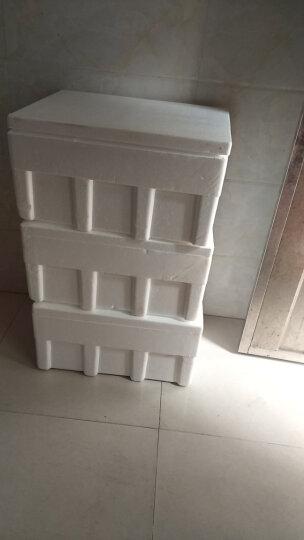 楠花绿坊 金贝萝农资30斤中大号泡沫箱 海鲜箱 水果箱 保温冷藏箱 晒单图