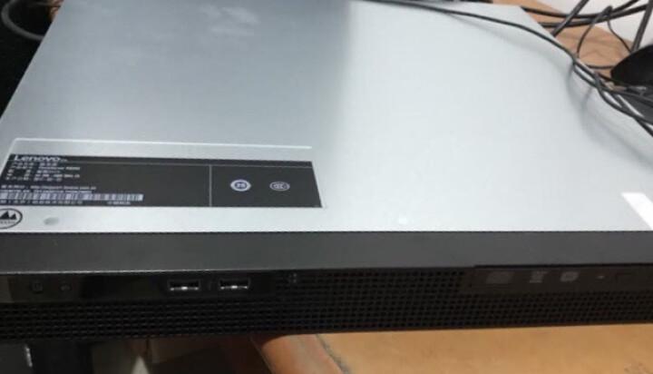 联想(ThinkServer) RS260(RS240升级版)1U机架式服务器主机 酷睿i3 7100 8G内存+1T企业级硬盘 晒单图