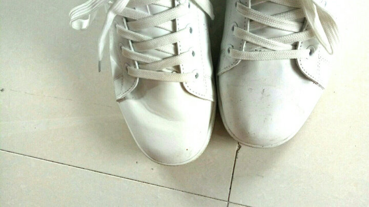 回力男鞋韩版小白鞋男板鞋运动休闲男鞋滑板鞋潮鞋春季系带白色鞋子男 白绿559 41 晒单图
