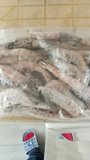 百斯顿 原装进口澳洲王虾 1kg 25-30只 盒装 海鲜水产 晒单图