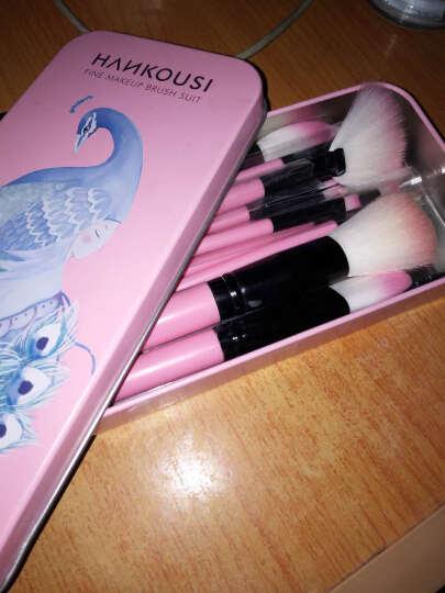 12支化妆套刷桶组合 化妆刷子初学便携化妆刷筒套装专业工具铁盒 12只浅粉色化妆刷套装 晒单图