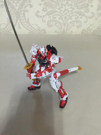 万代BANDAI高达拼装模型玩具 RG 1/144 敢达 RG16 红魔蟹190183【送支架】 晒单图