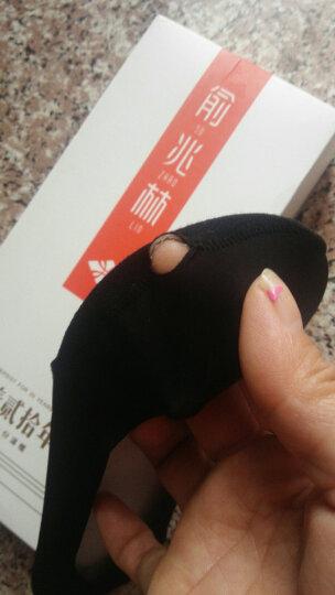 俞兆林【5双】船袜女士隐形袜女生环形强力防滑防脱胶冰丝无痕透气超低浅口女袜95%纯棉 冰丝5双装 均码 晒单图