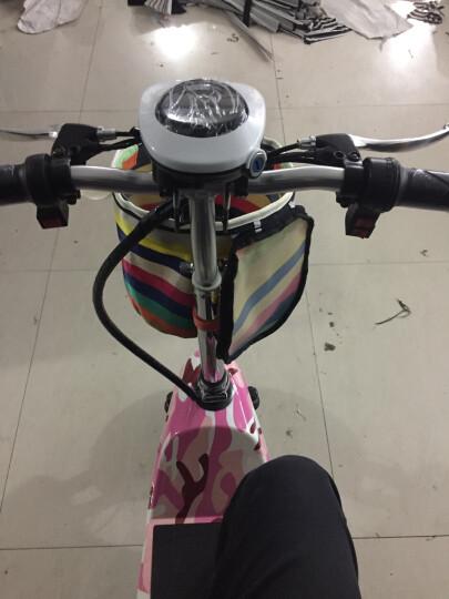 威科朗(weklan) 威科朗电动三轮车小海豚迷你折叠电动车女士电瓶车电动自行车代步车 黑色 升级坐垫-36V-350W-续航30-35公里 晒单图