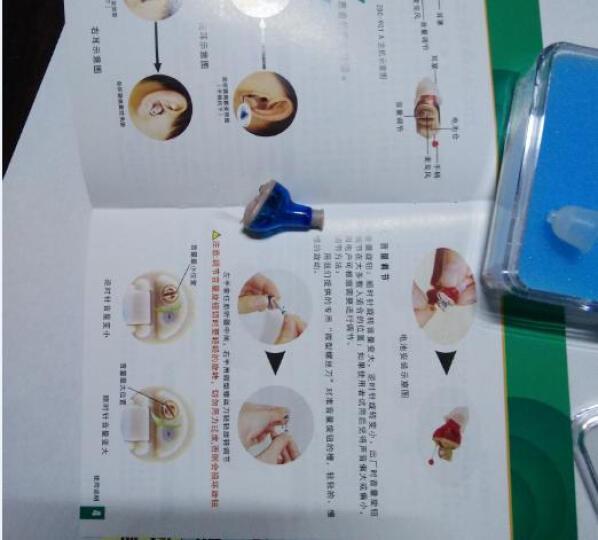 美立声 助听器隐形助听器老年人助听器 隐形助听器配件耳膜一套(大中小各一个) 晒单图