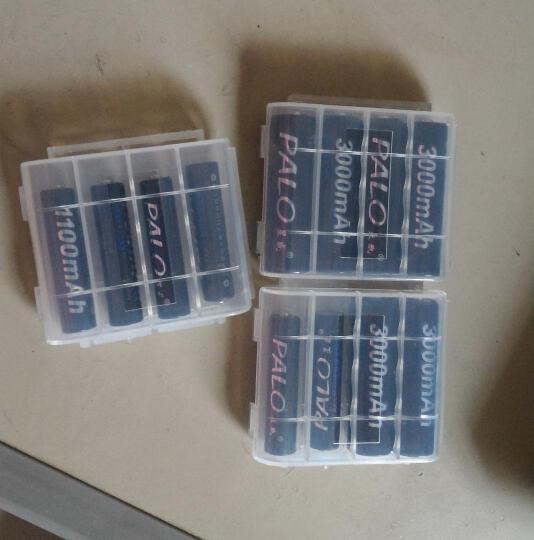 星威(PALO) 可充电电池AA5号/AAA7号/1号D型/2号C型 多节充电电池组合 7号AAA900x6 晒单图