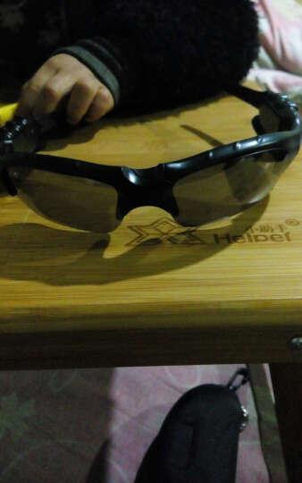 曼汀诺 蓝牙眼镜智能眼镜 MP3 立体声听歌打电话司机 太阳镜墨镜 树 深灰色 晒单图