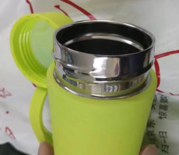 优道(Unibott)保温杯不锈钢保温瓶水杯时尚可爱便携直身车载茶杯创意学生水杯男女情侣杯子 贝加尔 嫩绿 330ml 晒单图