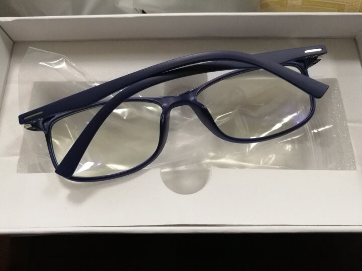 量子光波能量负离子防蓝光护目自然莎康立同款式男女眼镜 蓝色平光 晒单图