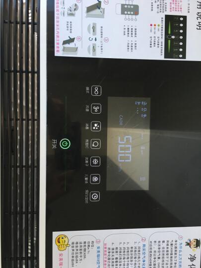 安美瑞 ffu空气净化器家用 新风系统 负离子除雾霾甲醛PM2.5氧吧 除尘 空气净化器 新房除甲醛增强版+除霾+负离子+杀菌功能 晒单图