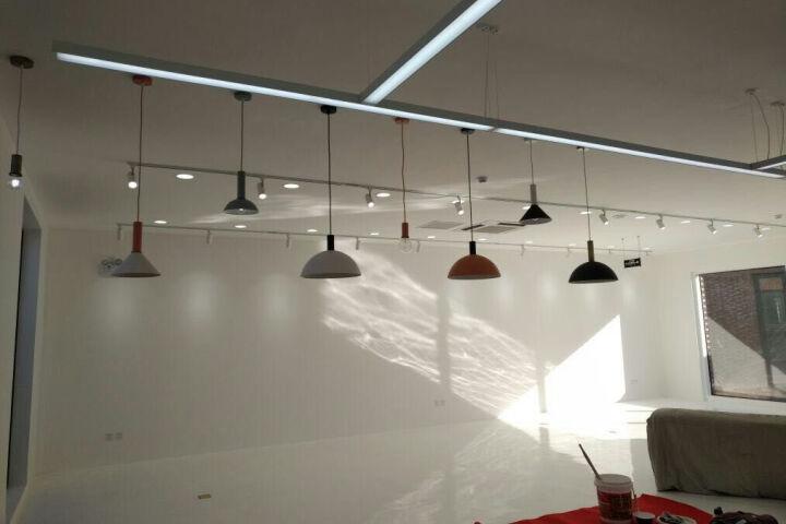 光团精工 费尔姆吊灯 北欧丹麦设计师DIY创意个性餐厅灯 后现代简约铁艺loft工业风格 短灯头浅灰 晒单图