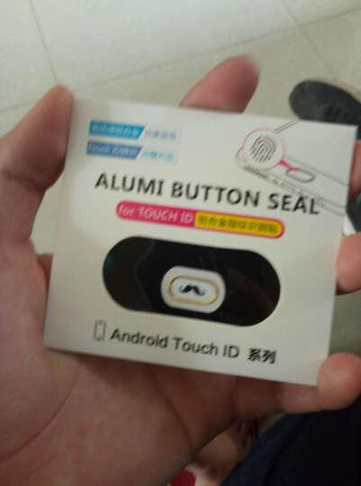 SAYHAY 手机home键指纹按键贴指纹识别金属按键贴 适用于魅族 魅蓝5s/note5 小胡子 晒单图