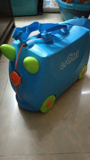 trunki儿童行李箱 卡通图案可坐骑拉杆储物箱 户外旅行箱18L-伦敦巴士 3岁以上 英国潮牌 晒单图